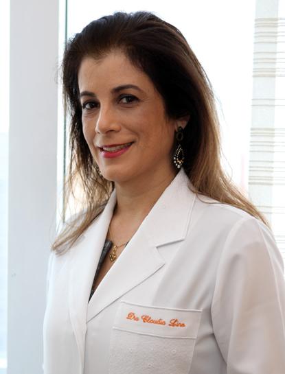 Dra. Claudia Lino Moraes, Médica Dermatologista