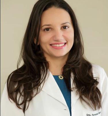 Dra. Fernanda Andreia Teixeira de Queiroz Domingos, Médica Dermatologista