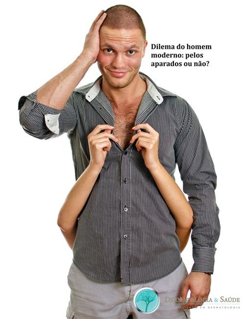 AlttextOs homens tem padrões variáveis de preferência quanto aos pelos corporais
